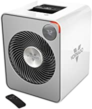 Vornado VMH500 Whole Room Metal Heater with Auto Climate, 2 Heat Settings, Adjustable Thermostat, 1-12 Hour Timer, and Remote, Ice White
