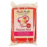 FunCakes mandelhaltige Zuckermasse Passion Red, 1er pack (1 x 250g)