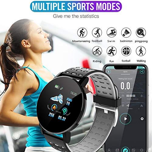 Dinger Pantalla táctil Smart Watch Sports IP67 Impermeable Monitor de sueño de Ritmo cardíaco Smartwatches