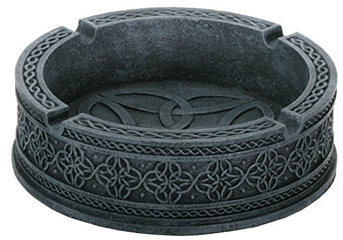 Celtic Ashtray Smoke Collectible Tribal Decoration Statue