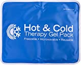 Roscoe Gel Ice Pack and Ice Packs for Injuries Reusable, Ice Pack for Back, Shoulder, Knee, 11 x 14 Inches
