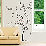 JieGorge - Adhesivo decorativo para pared, diseño de árbol, musulmán