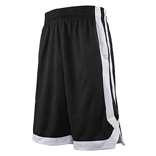 c38d043c3a05 TOPTIE Two Tone Basketball Shorts For Men with Pockets