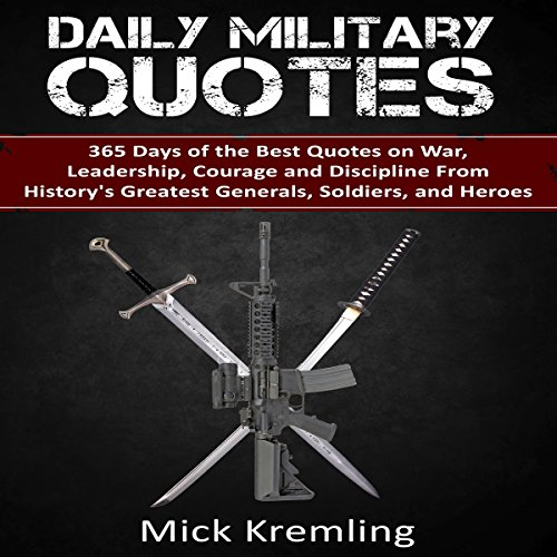 Daily Military Quotes audiobook cover art