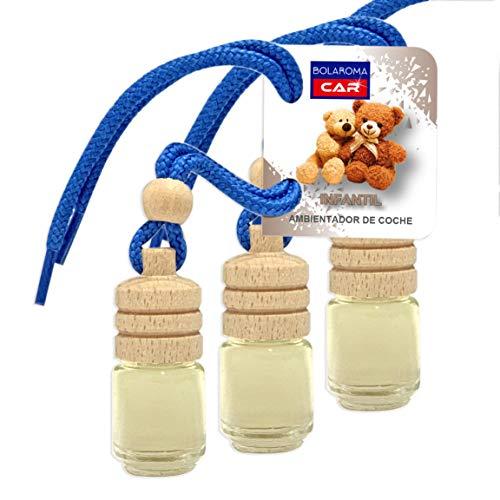 BOLAROMA Pack 3 ambientadores Coche Botella 4