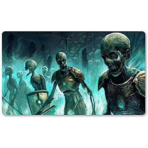 Immortal Servitude - Brettspiel MTG Playmat Tischmattenspiele Mousepad Spielmatte für Yugioh Mon Magic The Gathering 30X80CM