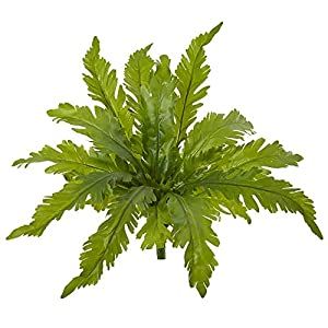Nearly Natural 14in. Fern Artificial (Set of 6) Silk Plants, Green