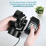 Zoom IMG-1 simbr ventilatore usb mini portatile