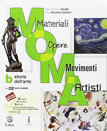 M.O.M.A. Materiali-opere-movimenti-artisti. Per la Scuola media. Con e-book. Con espansione online. Con 2 libri: Album-Mi preparo per l'interrogazione (Vol. A-B-C)