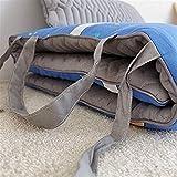 J-Kissen Faltbare Boden Futon Matratzen, Kissen Futon, Roll Up-Matratzenauflage Auflage for Reise, Portable Schlafunterlage mit niedlichem Coevr (Color : C, Size : 70x150cm(28x59inch)) - 3