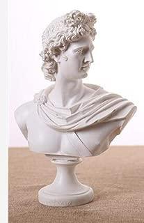 JDSHSO David Venus Apollo Figure God Sculpture Elegant Retro Greek Mythology Bust Statue Resin Crafts European Home Decor