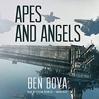 Apes and Angels audiobook cover art