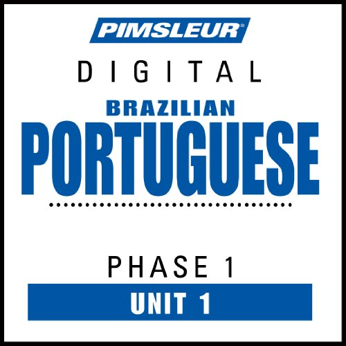 Portuguese (Brazilian) Phase 1, Unit 01 audiobook cover art