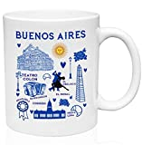 Lplpol Buenos Aires Argentina - Taza de cerámica (325 ml)