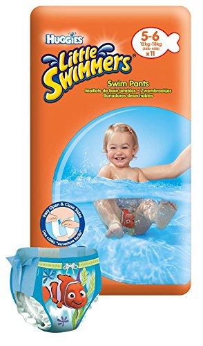 Huggies 11er Pack Schwimmwindeln Gr. 5 + Nemo