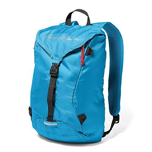 Eddie Bauer Unisex-Adult Stowaway Packable 20L Ruck Pack, Peak Blue Regular Ones