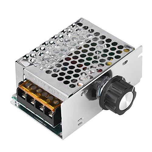 Tonysa AC Spannungswandler, 4000W 220V Wechselrichter 220V Dimmer Elektromotor Drehzahlregler zum Einstellen von Geschwindigkeit/Helligkeit/Spannung/Temperatur von Elektrogeräte