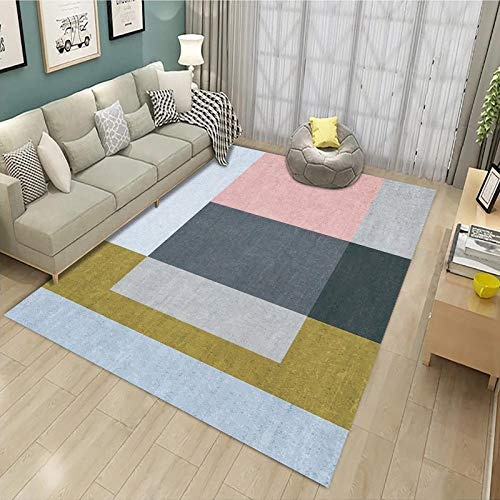 Carpet Modern Indoor Fluffy Carpet, Stylish and Simple Bedroom-DW8_120200CM
