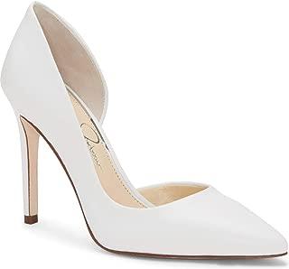 Jessica Simpson Women's pheona, Bright White Pointed Toe Dress Pumps