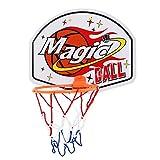 WYHM Durable Canasta de Baloncesto Tablero y Conjunto de Aros Baloncesto Interior Netball Hoop Mini Tablero de Baloncesto Niños Regalos Completo Accesorios (Color : B)