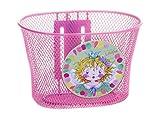 Bike Fashion 825054 Prinzessin Lillifee - Cesta de bicicleta metálica en color rosa [Importado de Alemania]