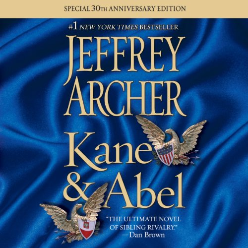 Kane & Abel audiobook cover art