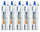 Dryzone Horizontalsperre Creme - Gegen Feuchte Wände und Aufsteigende Feuchtigkeit - WTA Zertifiziert 310 ml (5 Stück). Bei Wandstärke von 240mm, Ergiebigkeit von 7,5 Meter Wandlänge behandelt.