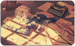 Violet Evergardan アニメ スタイリッシュ プレイマット マウスパッド (24 x 14) インチ [PM] VioletEver Pt2-5