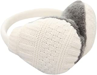 3c1c6cc6b0c Voberry Unisex Knit Earmuffs Faux Fur Furry Plush Earwarmer Winter Outdoor  Ear Muffs for Men Women