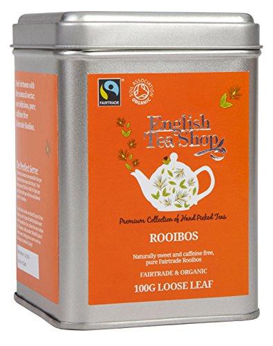 English Tea Shop - Rooibos, BIO Fairtrade, Loser Tee, 100g Dose