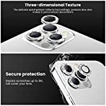 Tensea Compatible with iPhone 12 Pro Camera Lens Protector, 9H Tempered Glass Camera Cover Screen Protector for iPhone12 Pro 6.1 inch 2020 (Diamond)