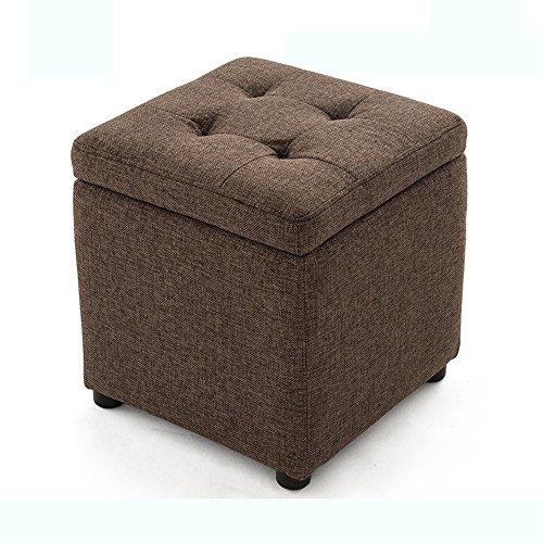 Tabouret de stockage, pour le tabouret de chaussure, les fils de jetée, le tabouret de sofa de hall, le tabouret, le tabouret, le petit tabouret (taille : 40 * 40 * 40cm)