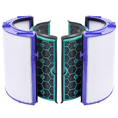 KEEPOW 1 Ersatzfilter Zubehör Kompatibel für Dyson HP04 TP04 DP04 Pure Cool Luftreiniger und Lüfter