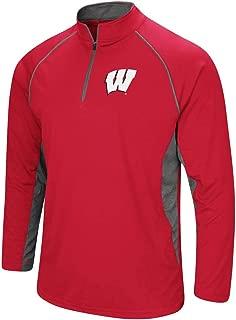 Colosseum Men's NCAA-Rival-1/4 Zip Lightweight Pullover