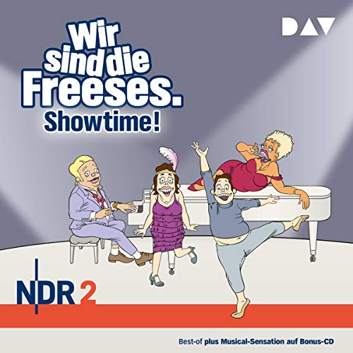 Showtime! (German edition) audiobook cover art