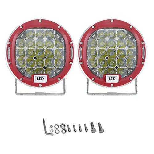 Bubbry 7 inch LED-werkschijnwerper High Power Off Road koplampen paar LED rijlicht
