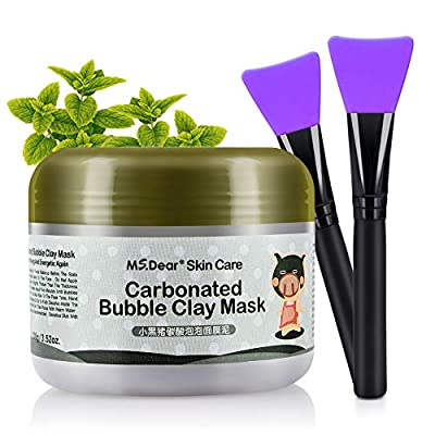 HailiCare Carbonated Bubble Clay Mask Bubbles Mud Mask Moisturize Deep Cleansing Face Mask 100g