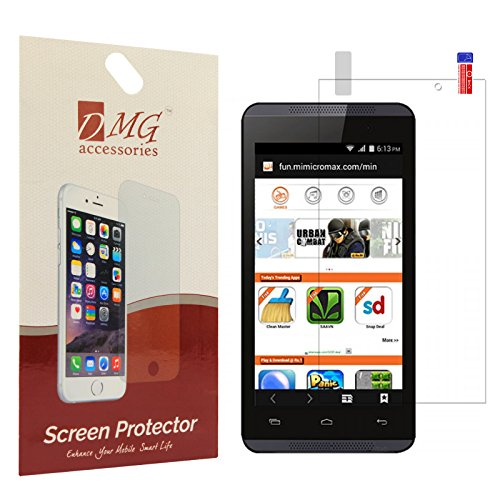 DMG Matte Anti-Glare/Anti-Fingerprint Screen Protector for Micromax Canvas Fire 4 A107
