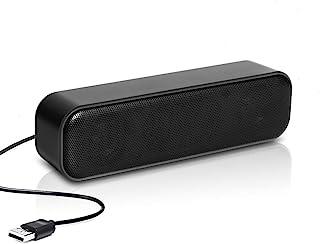 Altavoz USB Mini estéreo multimedia para ordenador, portátil, PC, computadora de escritorio, contador de pago B