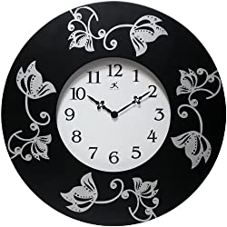 Infinity Instruments Wall Clock, Lily