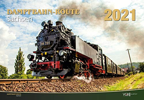 Dampfbahn-Route Sachsen 2021: Kalender 2021