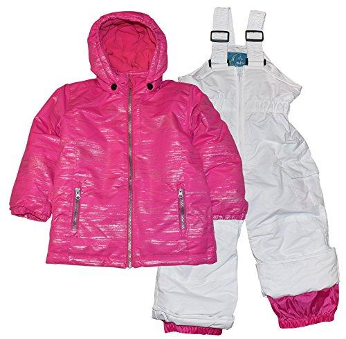 Pulse Toddler and Little Girls 2 Piece Snowsuit Set Glitter