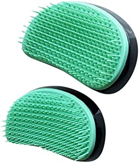 Mount Plus 2 Pieces Scalp Massager Dandruff Brush - for Exfoliating Treatment, Shampoo Scrubbing, and Hair Growth