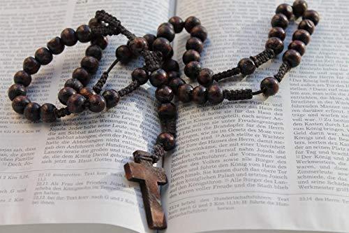 Libro Sagrado del Cristianismo con Rosario Cruzado 1,000 Piezas De Rompecabezas Juguetes Educativos para Niños Desafían La Capacidad Intelectual