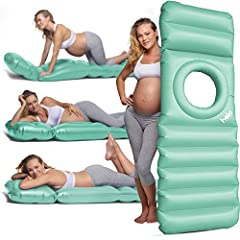 SUPPORT: The specialized rim provides support for your hips and back, while allowing you to lie on your tummy or side for short spans of time to rest ACHES & PAINS: The holo is specially designed with pregnancy comfort in mind, and has been known to ...