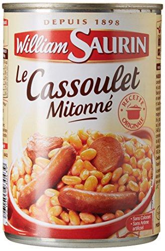 William Saurin la Boite 420 g Cassoulet - Lot de 6