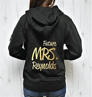 Future Mrs Last Name Hoodie, Future Mrs Hoodie, Future Mrs Zip-Up, Custom Last Name Hoodie, Personalized Name Hoodie Zip-up