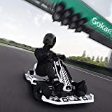 Lataw Electric GoKart Drift Kit, Hurricane Pedal Go Kart,Go Kart Gas Powered Go Cart for Adults and Kids Electric Kart Drifting, Outdoor Racing Scooter,Riding Toy, with Flashing Lights Black