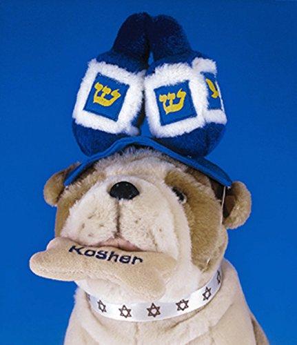 copa Plush Dreidel Draydel Hanukkah Pet Hat