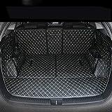 Uspick For Toyota Camry Corolla RAV4 Prado Highlander Sienna Zelas 5D, Coche Ajusta a Las Medidas del Tronco esteras de Revestimiento de alfombras (Color : Black Beige)